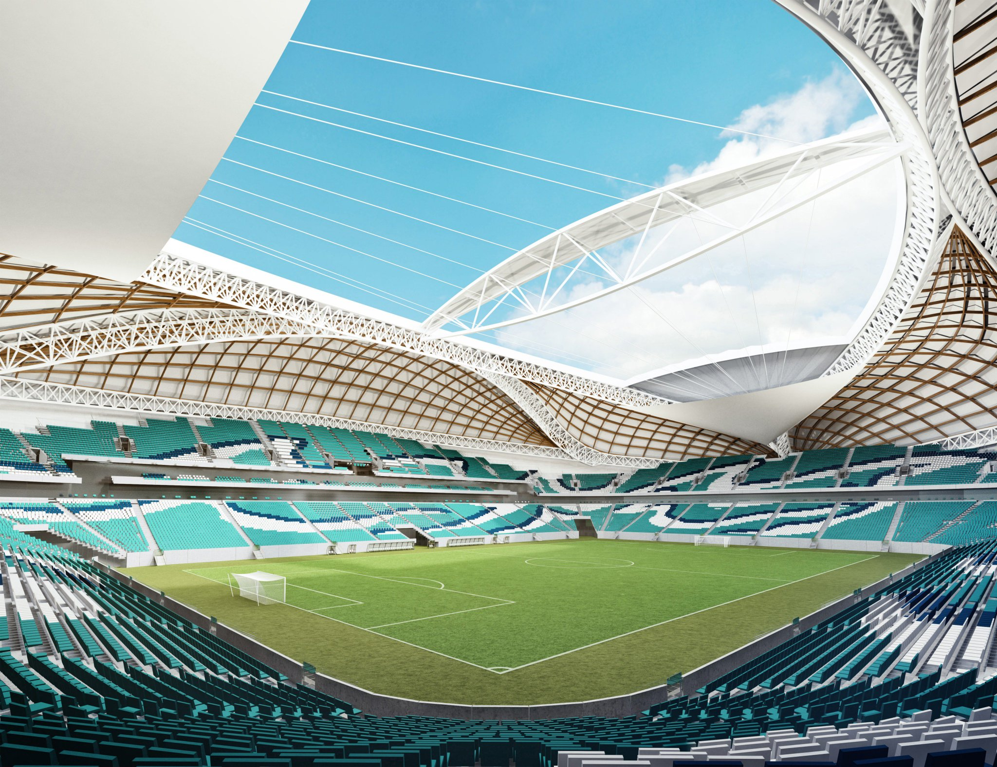Road To 2022 On Twitter Quot A Look Inside Al Wakrah Stadium
