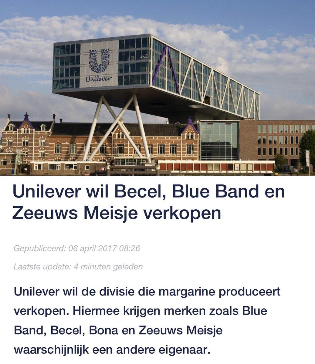 Johannes Van De Bank On Twitter Dus Unilever Margarinaliseert Blueband