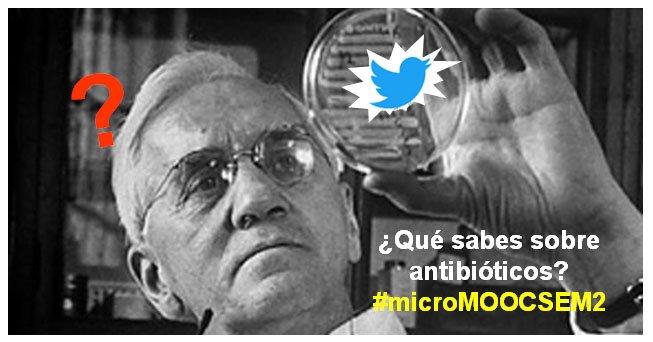 HOY Antibióticos y Resistencia a Antibióticos by @VictorJCid de la Universidad Complutense de Madrid España @unicomplutense #MicroMOOCSEM2 https://t.co/c53JbXPNa3