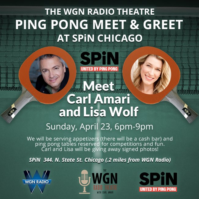 WGN Radio Theatre on Twitter: