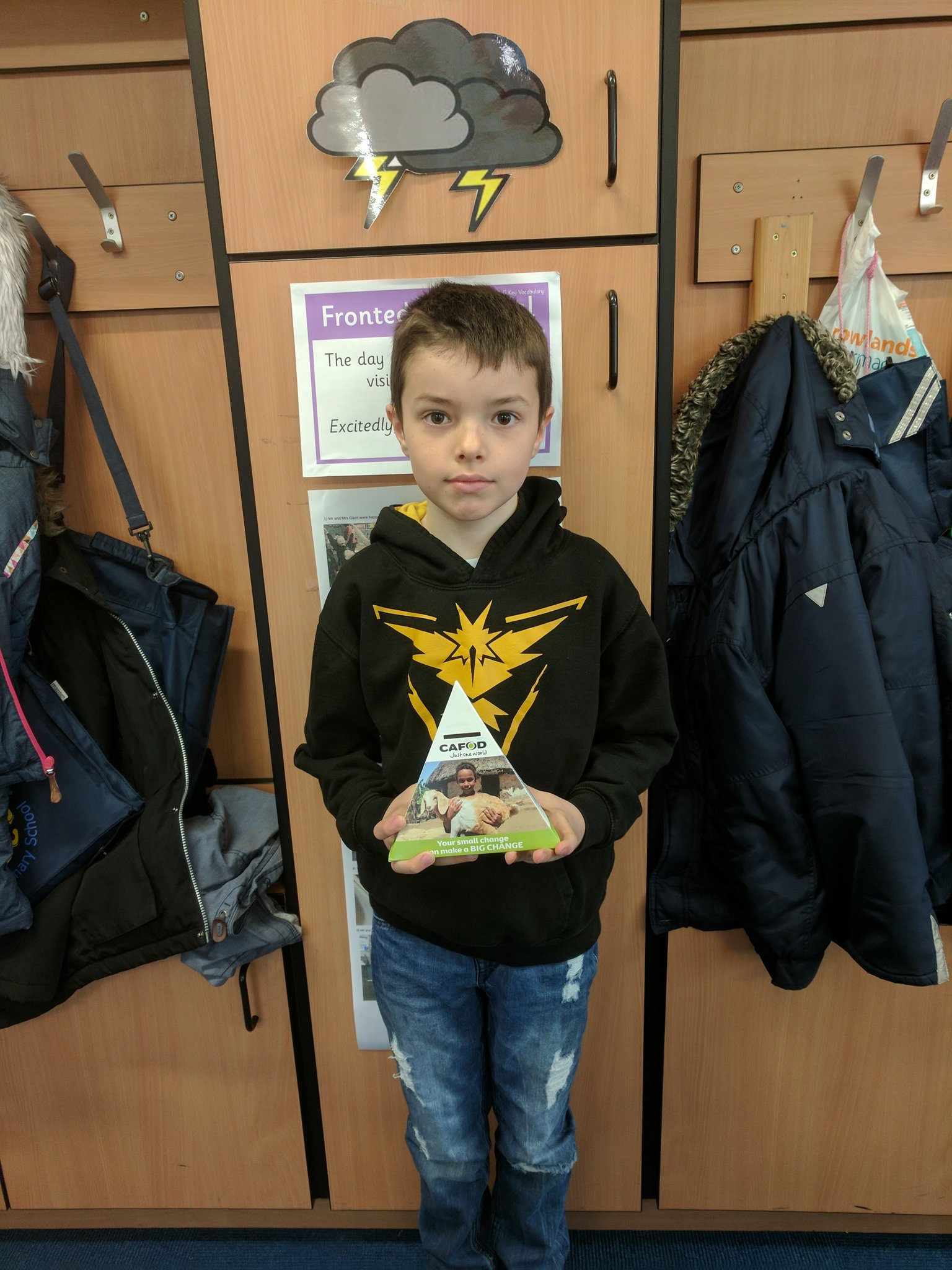 Josh has donated over £25 to help make little fish into big fish! #generous @CAFODSchools @CAFOD https://t.co/Eh2r1OPiBI