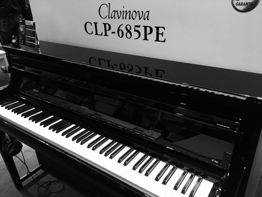 yamaha music uk on twitter the new clp 685 clavinova. Black Bedroom Furniture Sets. Home Design Ideas