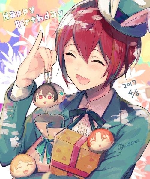 まにあった!司おめでとう!!   #朱桜司生誕祭2017 https://t.co/dosky29IGt