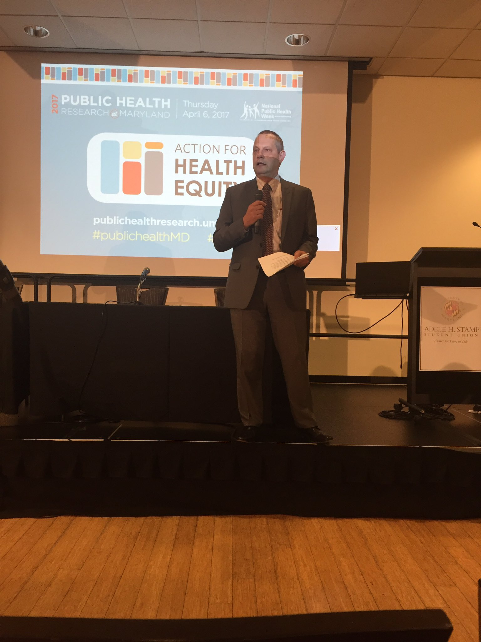 The Dean & my own public health hero, Dr. Boris Lushniak, who lives humanity & compassion in the fight for Health Equity #publichealthMD https://t.co/EB5nA3XlwZ