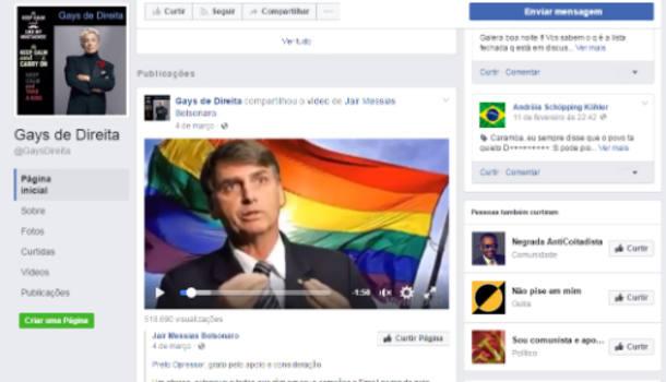 Grupo Gays de Direita apoia @jairbolsonaro e quer fim de 'hegemonia de esquerda' entre homossexuais https://t.co/pbAadL9nDn
