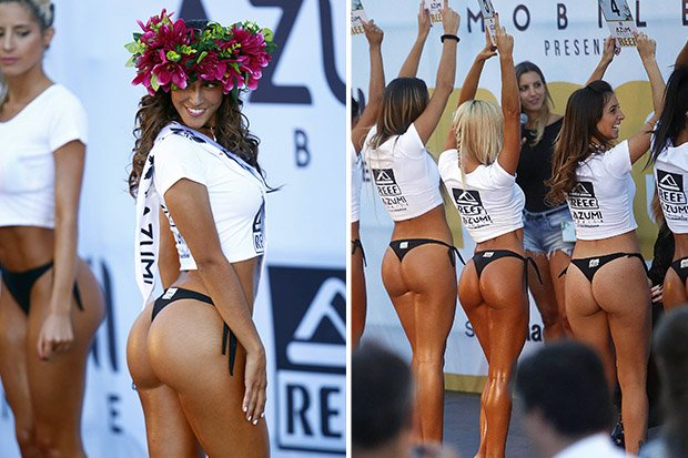 Strip off bikini contest question not