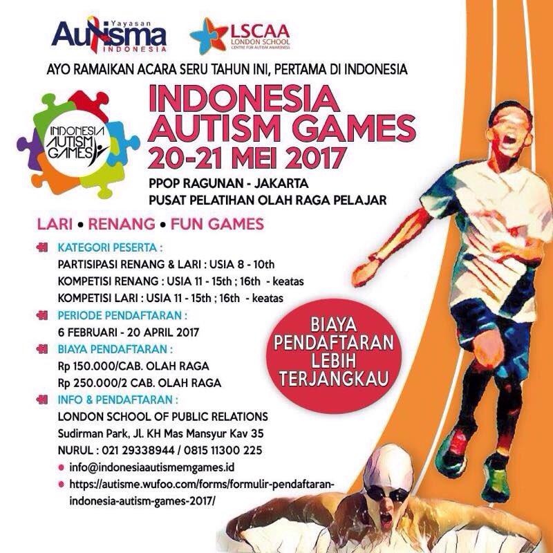 Indonesia Autism Games • 2017