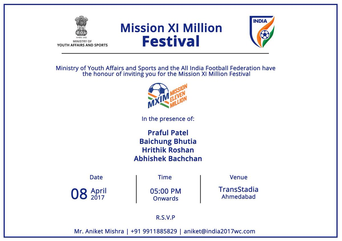 Hrithik, Abhishek Bachchan, Bhaichung Bhutia to attend mega football festival in Ahmedabad