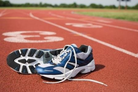 Image result for running shoes on track