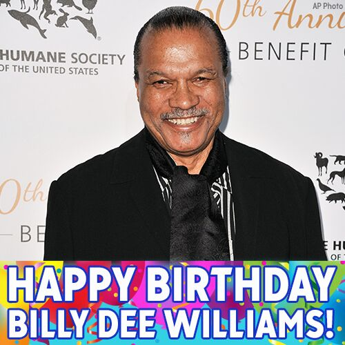 Happy 80th Birthday to actor Billy Dee Williams