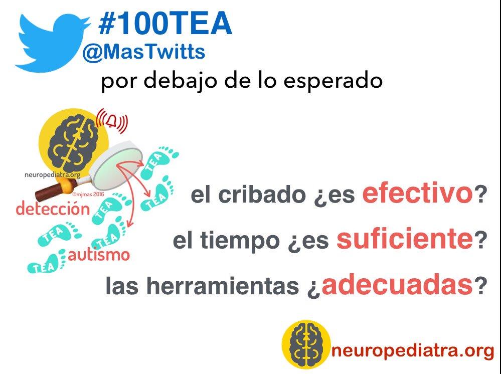 20 El #pediatra se encuentra con varias dificultades en la detección del #autismo #100TEA https://t.co/uBq1vkf9rE