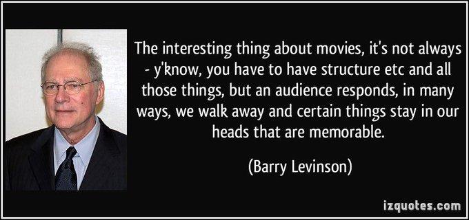 Happy birthday to Barry Levinson!