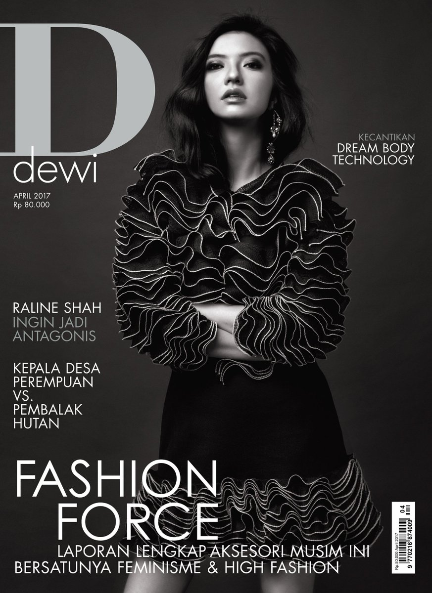 Out now, @dewimag first issue with new logo featurinf @ralineshah #dewiapril