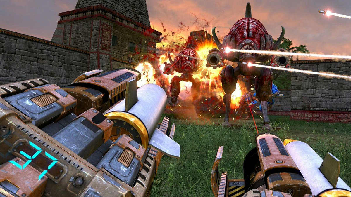 Serious Sam: The Second Encounter Arrives on Vive and Rift