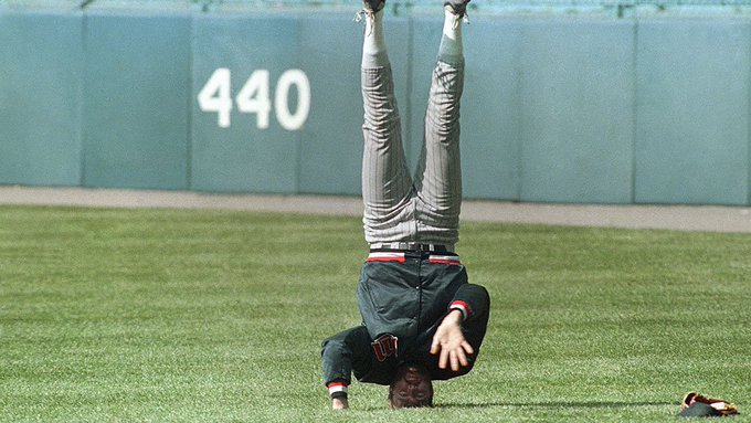 Happy birthday to Hall of Famer and handstand guru Bert Blyleven!