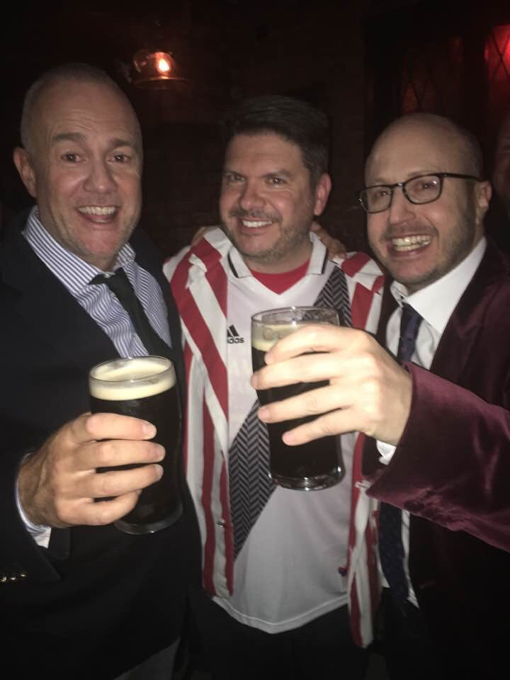 The Men In Blazers and a #GFOP