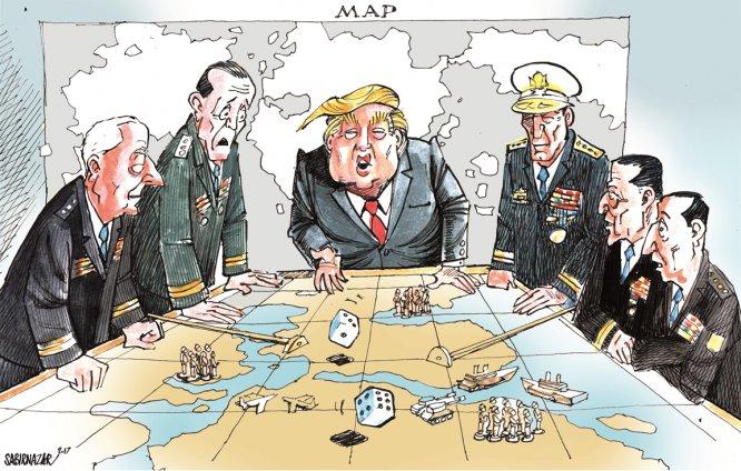 Trump e Nord Corea verso la Guerra, come nella Profezia di Nostradamus