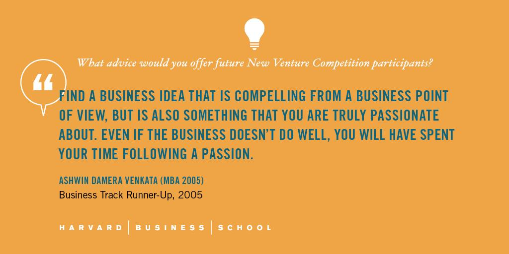 Advice for entrepreneurs. @HBSRock #HBSNVC