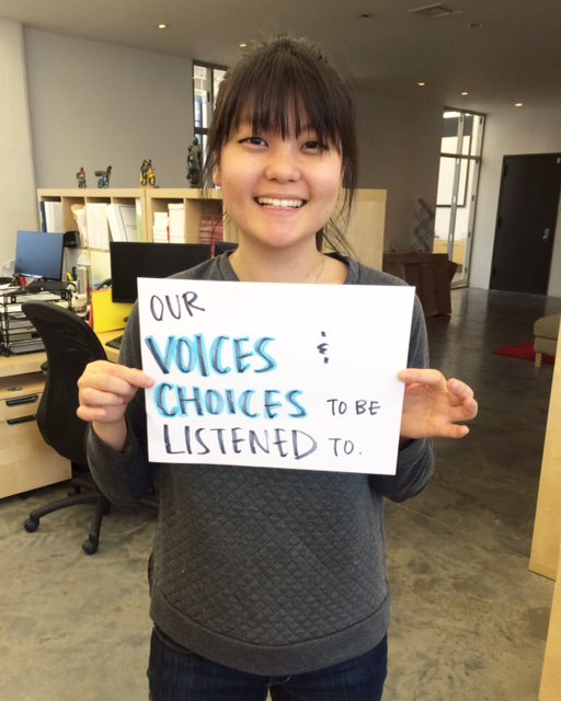 """""""Our VOICE & CHOICES to be listened to."""" #whatwomenwant @NetworkAthena https://t.co/3Ysf2olht0"""