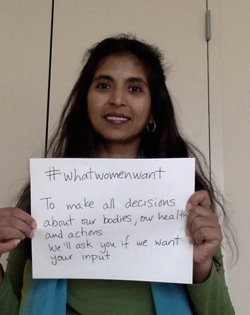 """""""To make all decisions about our bodies, our health & actions. We'll ask you if we want your input."""" #whatwomenwant @NetworkAthena https://t.co/lFLfWrfe4y"""