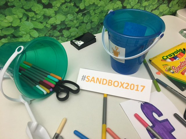 #Sandbox2017 kicks off today!  Full house to discuss important issues for children and youth. https://t.co/z1SiK96aSh