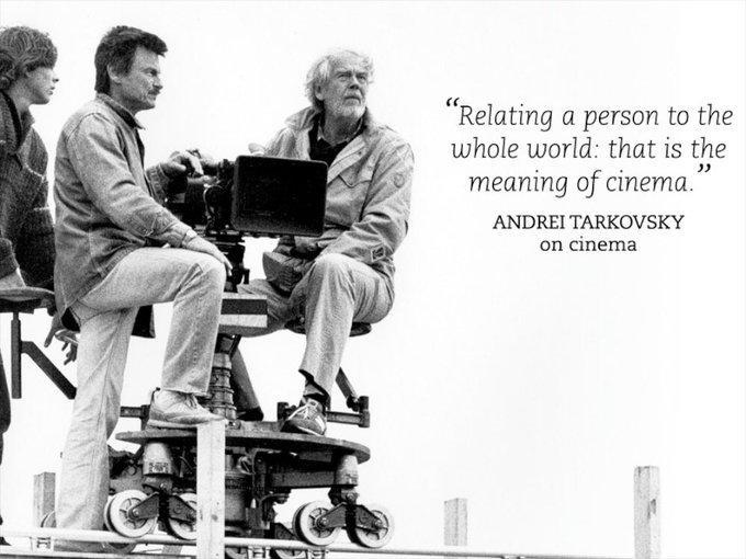Remessageed Paola ( Happy birthday to the poet of cinema,  Andrei Tarkovsky