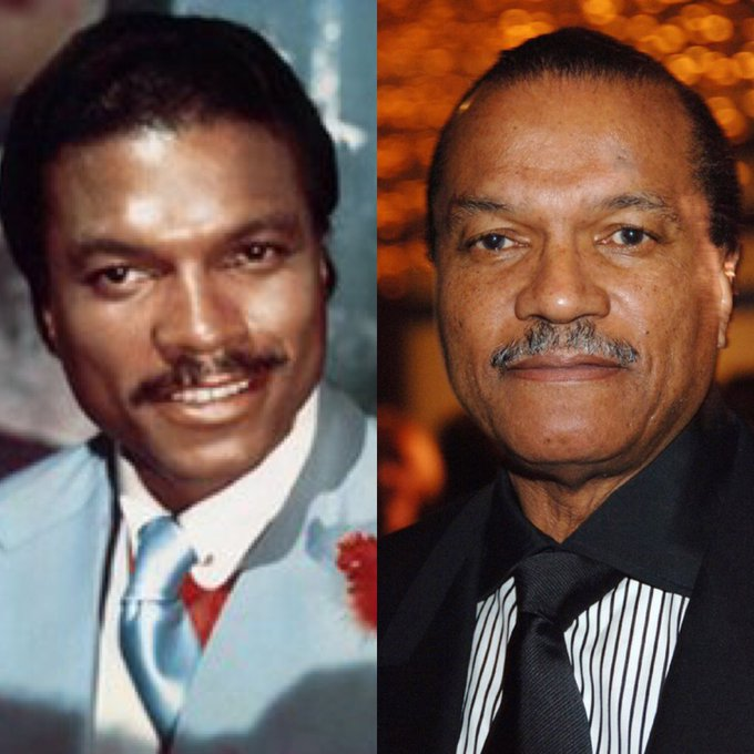 Billy Dee Williams - happy birthday turning 80 today
