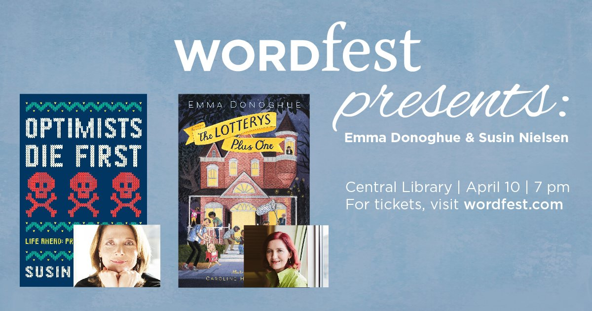 Thumbnail for Wordfest 2017: Emma Donoghue and Susin Nielsen