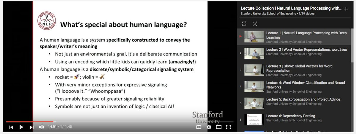 Deep learning course stanford