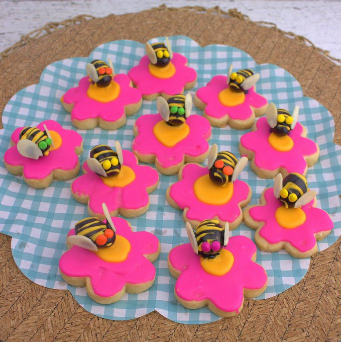Honeybee Cookies #FilltheCookieJar