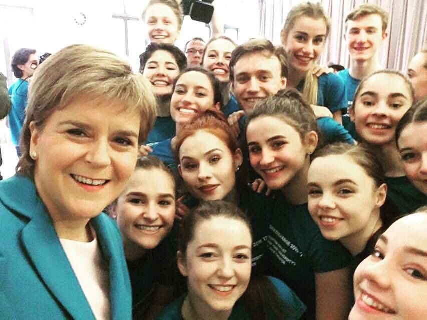 New York has been quite a trip so far - our Youth Exchange group even got a @NicolaSturgeon selfie!