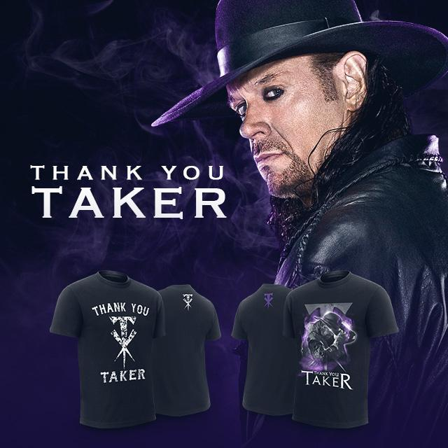 Resultado de imagem para WWE SHOP THANK YOU TAKER