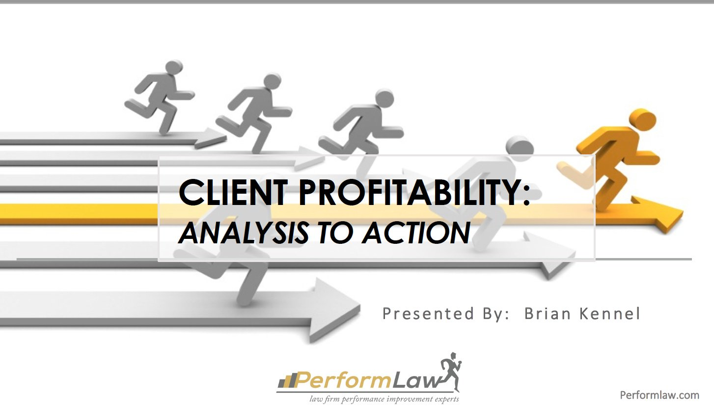 "View and Download Presentation Slides: ""Client Profitability: Analysis to Action"", presented at  #ALAConf17 https://t.co/zJ1CSL8rWm https://t.co/3YtaJiPd8g"