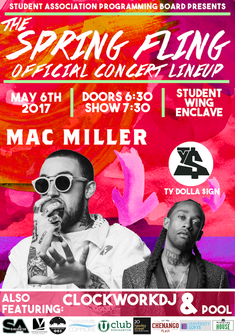This just in: @MacMiller and @tydollasign are performing at this year's Spring Fling! #BingFling https://t.co/RIa7lZ4ce7