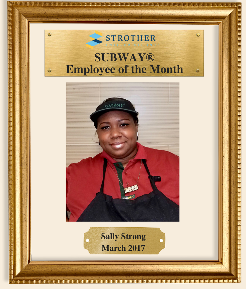 strother enterprises on twitter our new employee of the month is