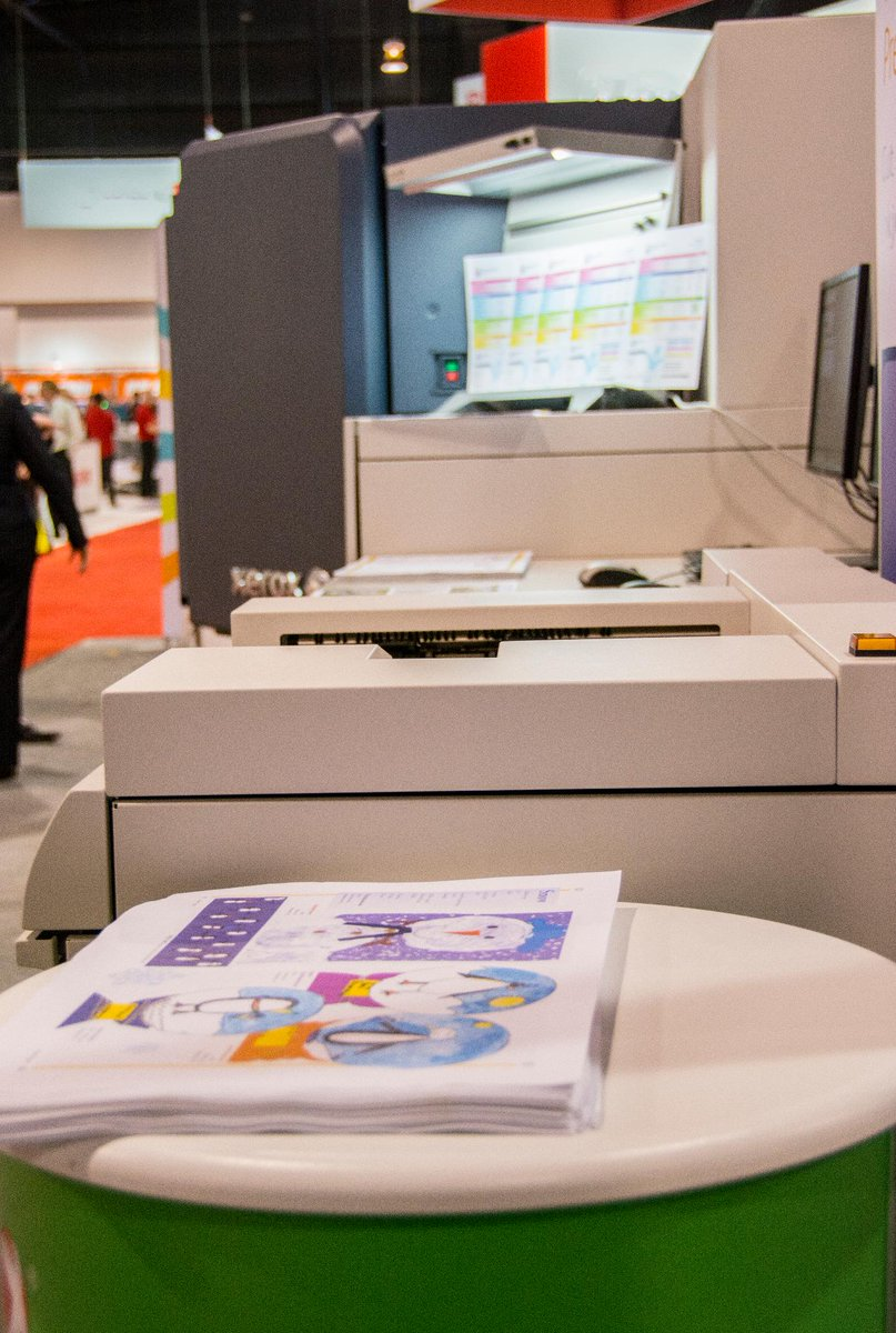 Xerox Canada On Twitter Brenva Hd Production Inkjet Press Display Graphicscanada For The First Time In