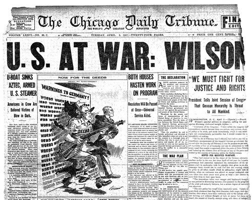 Resistance to WWI in the United States: 41 Tweets on the Centenary ...