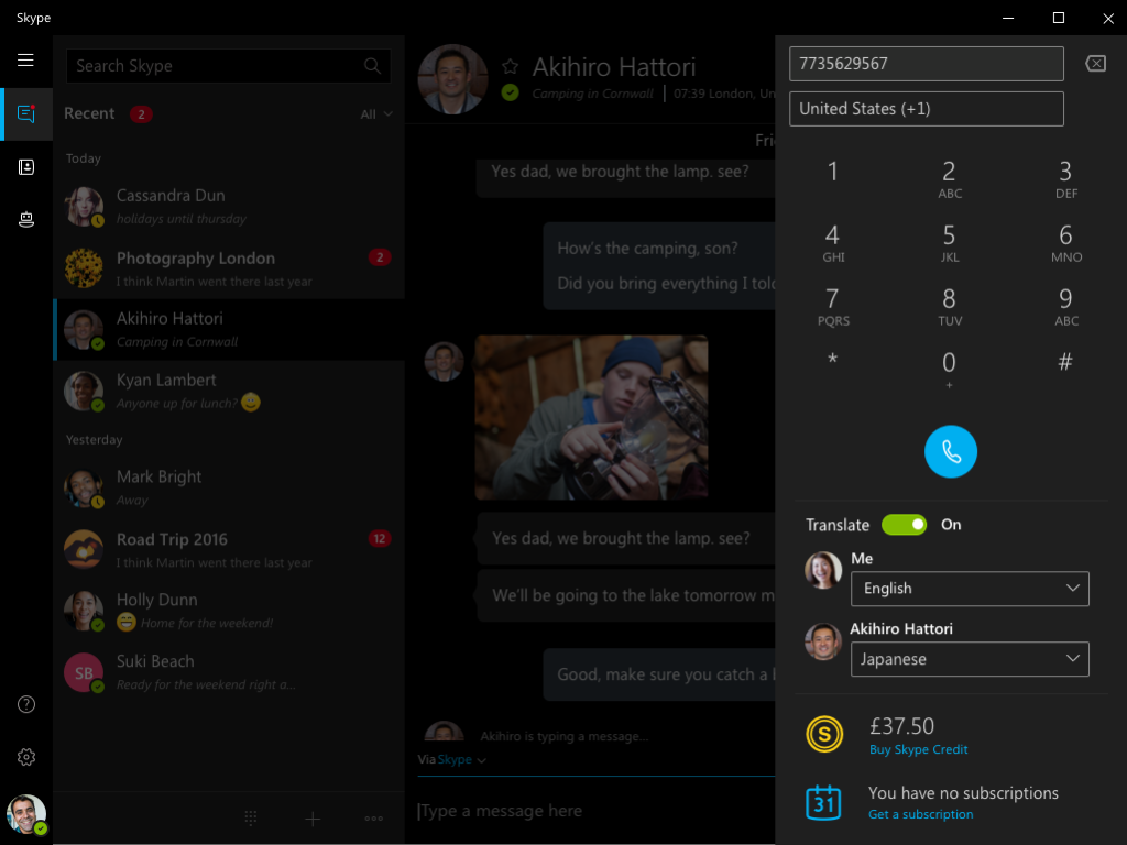 #SkypeTranslator offers Japanese as its 10th real-time spoken language. Learn more: https://t.co/AIWu7QDA27 https://t.co/O91PF6VqXw