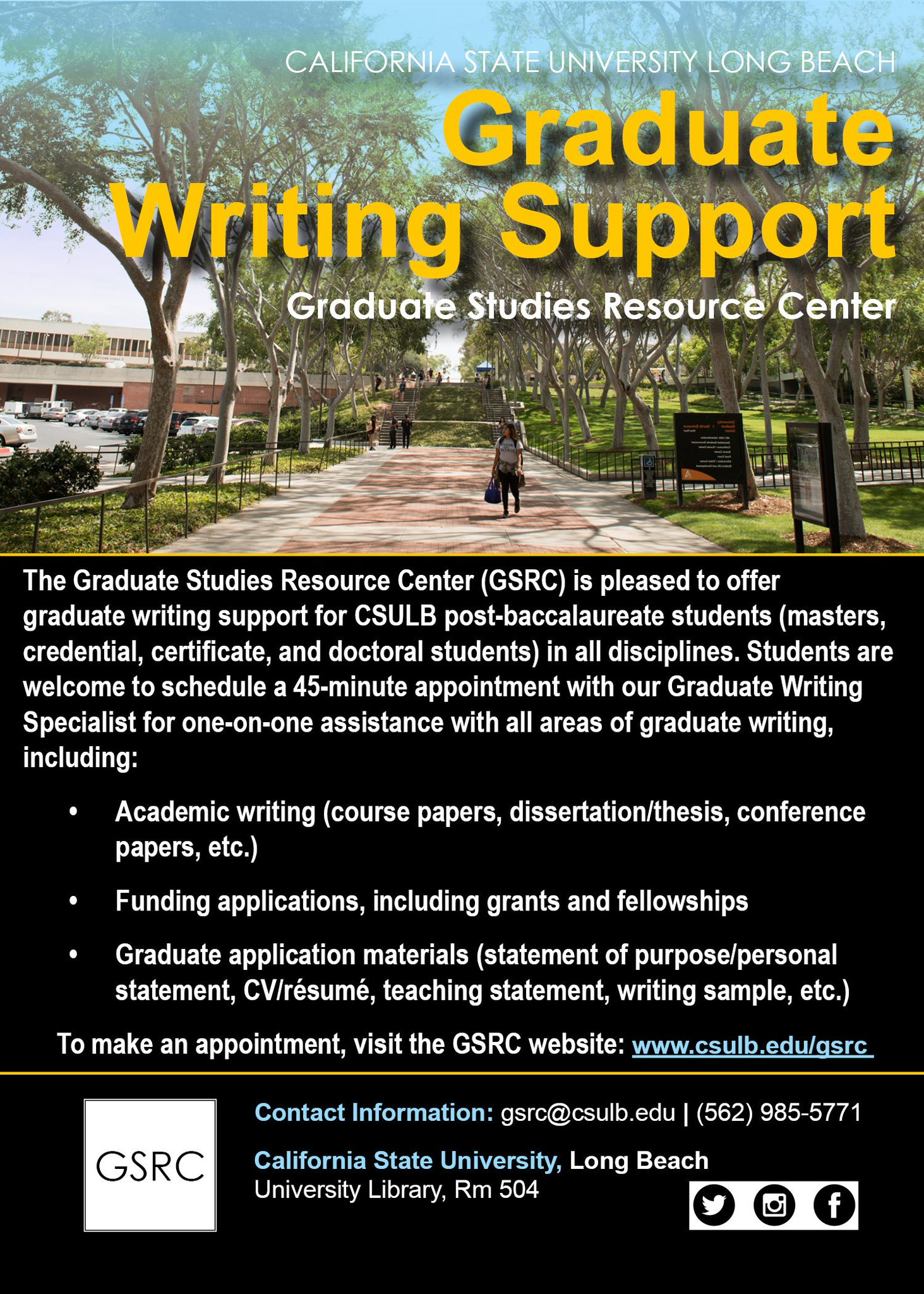 Gsrc on twitter the gsrc is now offering current csulb post gsrc on twitter the gsrc is now offering current csulb post bacc and graduate students free writing support 1betcityfo Gallery