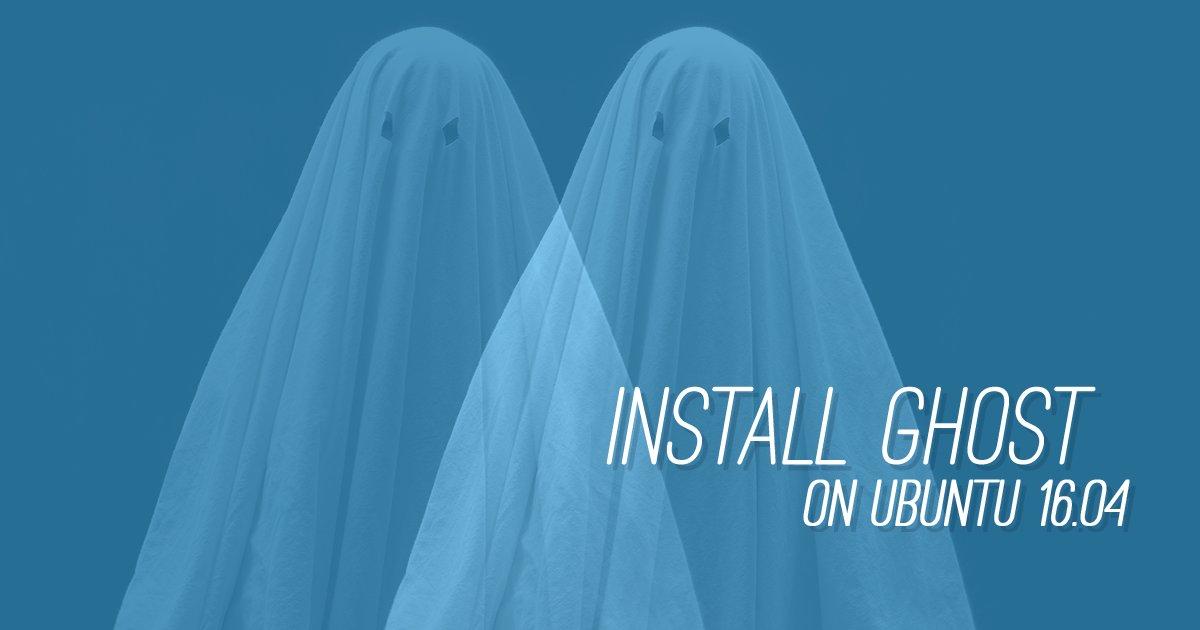 Create an online blog or publication with Ghost on @ubuntu 16.04: https://t.co/gJmxWGe0k7 https://t.co/nP7i02OZtV