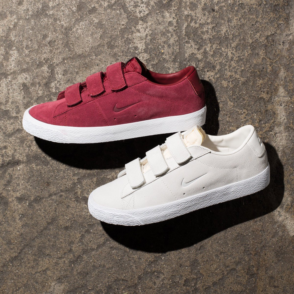 new style 0786a a8920 Numbers x Nike SB Blazer Low AC Team Red UNDEFEATED on Twitter .