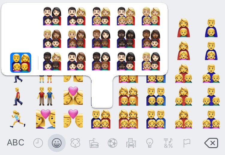 Emojipedia On Twitter Why There Arent Black Family