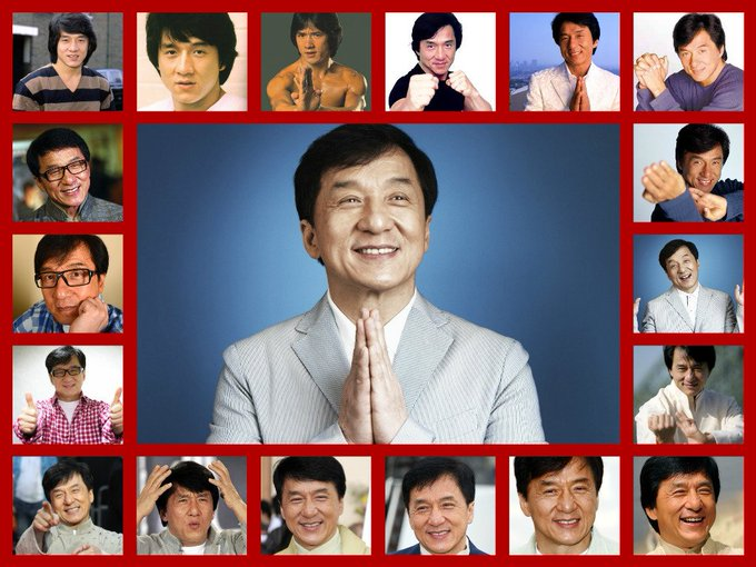 Happy Birthday Jackie chan. The Action king. Love from India