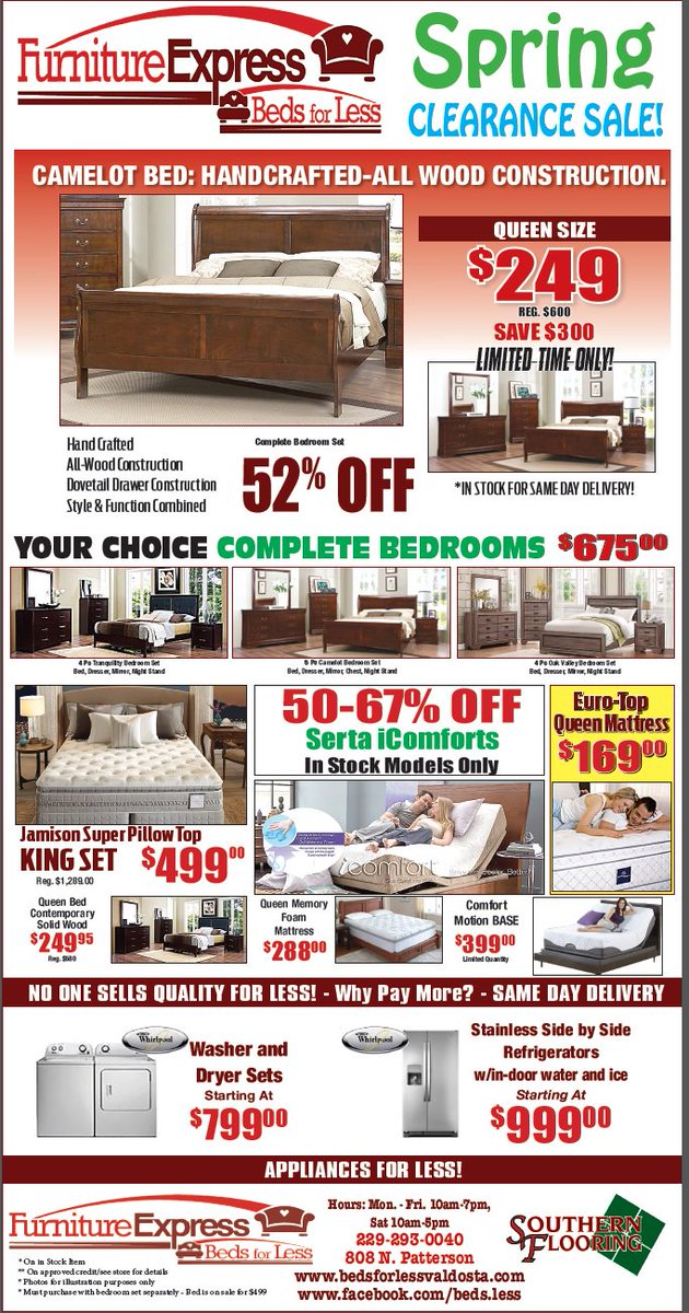 #parents #VSU #furniture #sales   Come Check Out The NEW Furniture At A  GREAT Prices. 808 N. Patterson St, Valdosta, Ga  229 293 0040pic.twitter.com/ ...