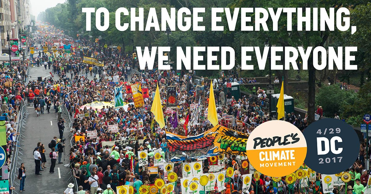We need to stand together to protect our climate, our health, and our communities. #PeoplesClimate #March https://t.co/41pwwEhJJ5