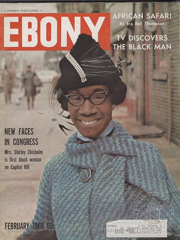 (2/2) 5 years + Shirley Chisholm breaks new ground as the 1st African-American Congresswoman in 1969. #HouseCollection #Rankin100 #10in10 https://t.co/MxUewS4s3B
