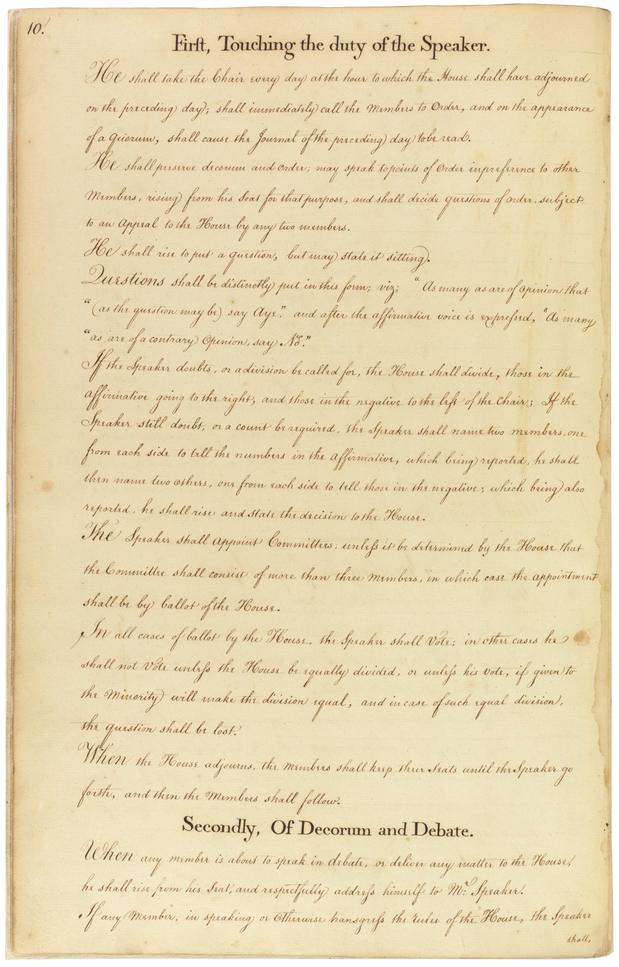 #OTD in 1789 the House set down its rules. See them in #HouseRecords. https://t.co/cqcGsb0sB9 https://t.co/AfNIeuAujM