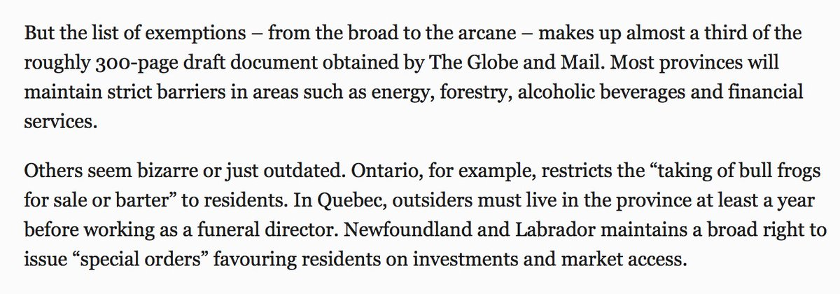 Andrew Coyne On Twitter The Canadian Free Trade Agreement