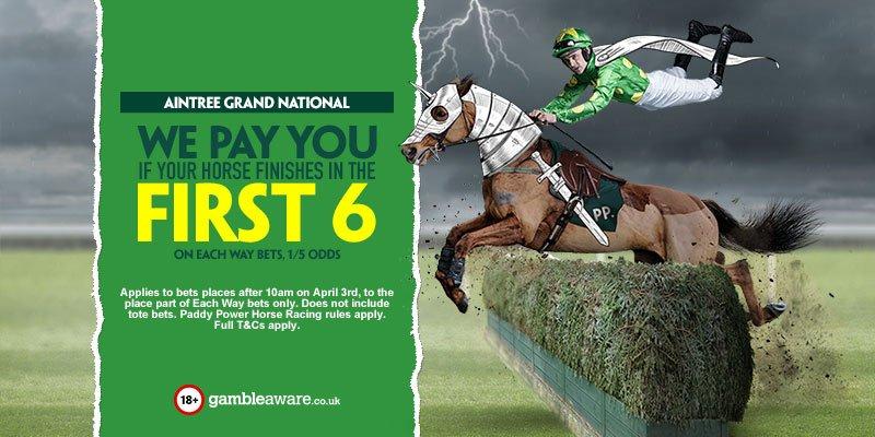 PaddyPower Horse Racing Bonus