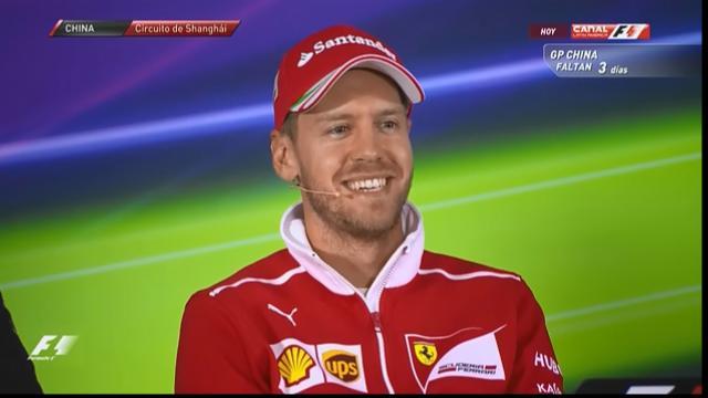 F1: inizia il GP di Cina, Vettel (Ferrari) ci crede